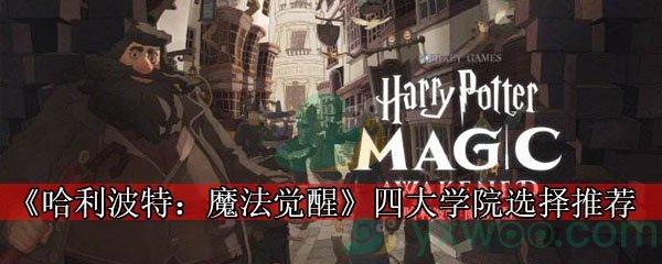 《哈利波特:魔法觉醒》四大学院选择推荐