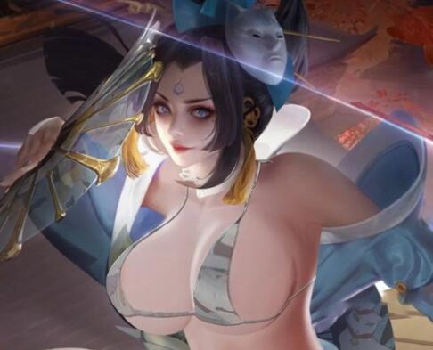 《王者荣耀》女英雄不知火舞去衣透视图